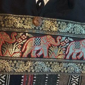 Cloth black/Gold/Multi color bag.(2/$18)